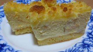 プレミアムチーズケーキライト 断面