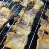 ピックル液 豚バラ串焼き 完成