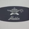 アラジンのトースターのロゴ