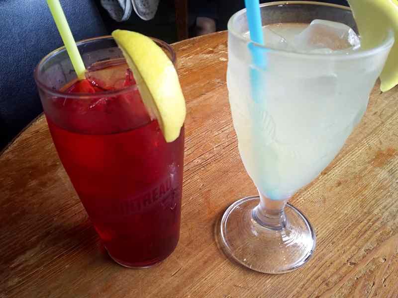 ストーブスのクランベリー&ライチジュース