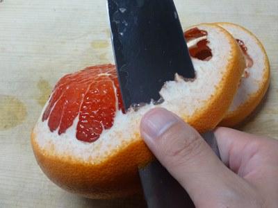 グレープフルーツの剥き方2