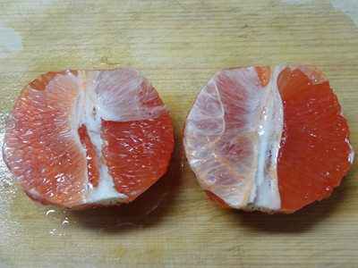 グレープフルーツの剥き方5