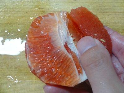 グレープフルーツの剥き方6