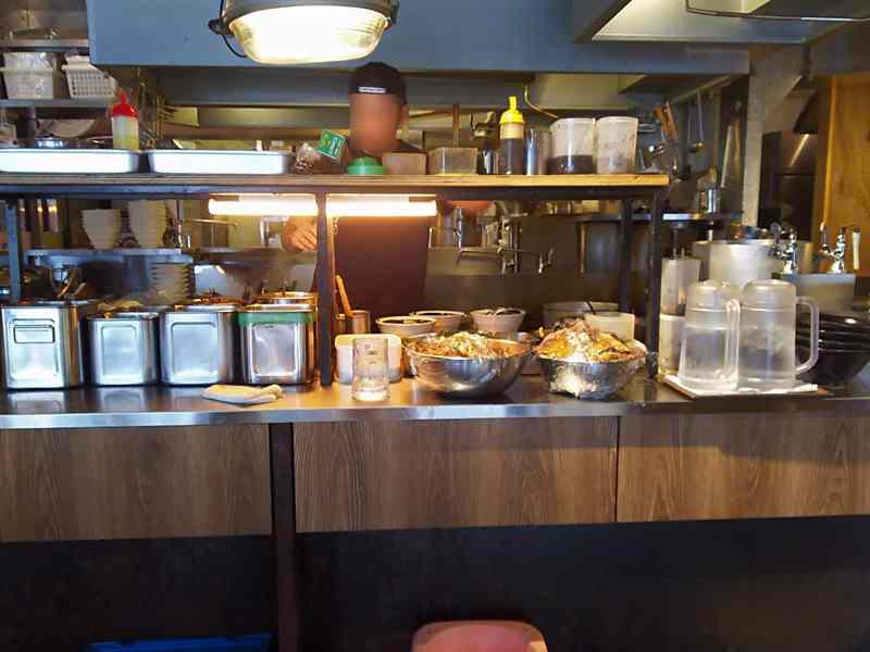 浜虎の厨房