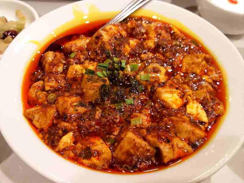 京華樓の麻婆豆腐