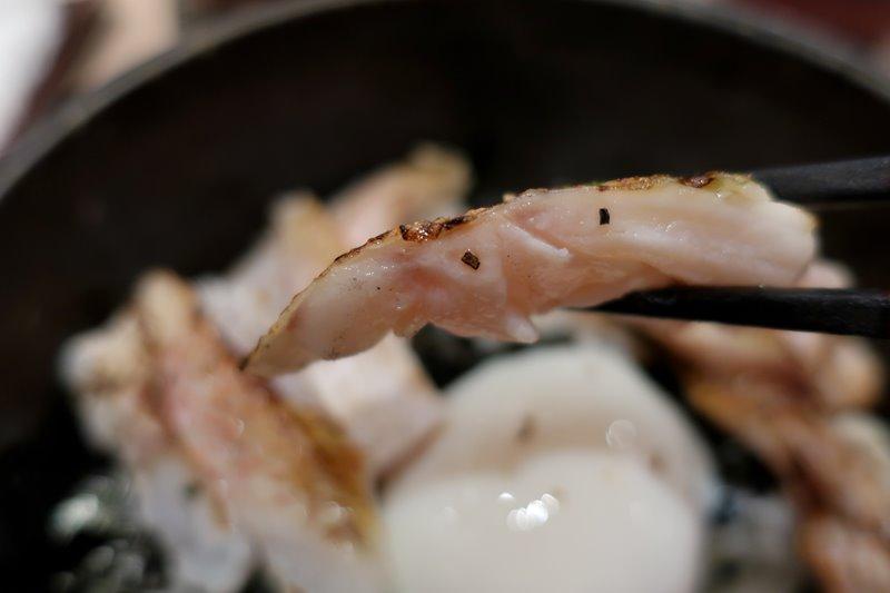 鮨 歴々 百番街店 のどぐろ炙り丼3