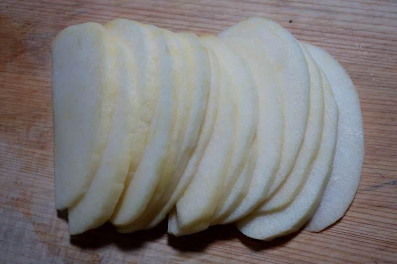 簡単アップルパイ りんごの細切り